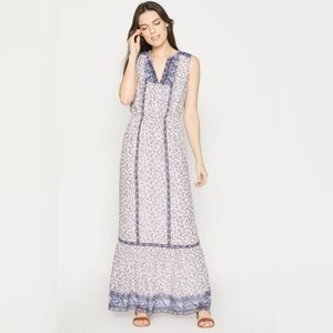 🌿NWOT Joie Silk Atisha Floral Maxi Dress